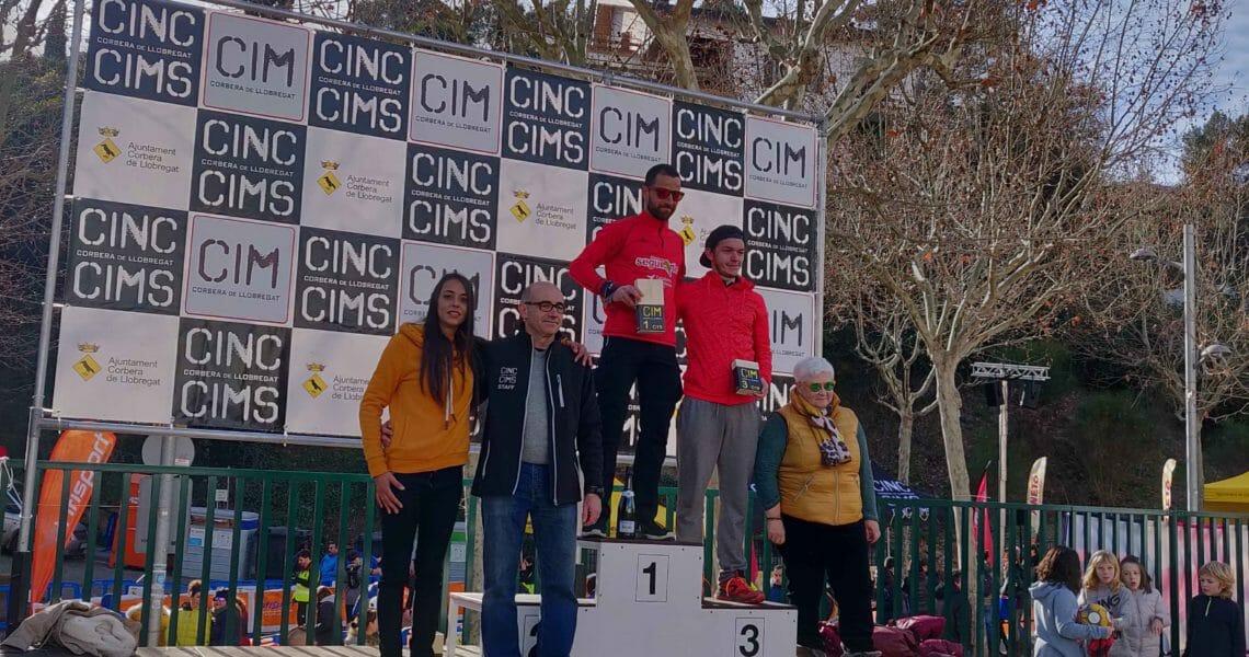 Pedro lopez gana Cinc Cims'19