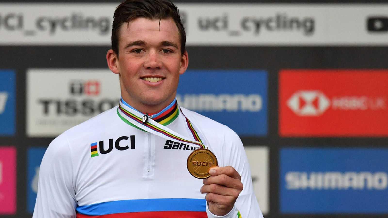 Pedersen campeón mundo ciclismo